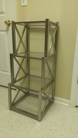 Metal & glass shelves in Oswego, Illinois