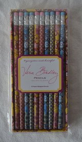 VERA BRADLEY PENCIL SET--TAKE NOTE COLLECTION-10 WRAPPED PENCILS in Chicago, Illinois