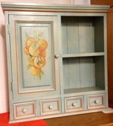 Antique Painted Wall Cabinet in Baumholder, GE