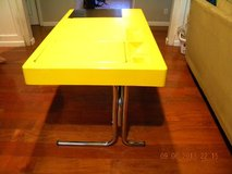 Italian Modernist Space Age Mid - century  Desk circa 1970 by noted artist *Very Rare* in Camp Lejeune, North Carolina