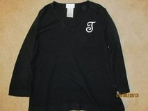 "Ladies size L ""T"" monogramed sweater in Fort Benning, Georgia"