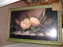 "Acrylic, ""Magnolias on Velvet"" & Frame in Perry, Georgia"